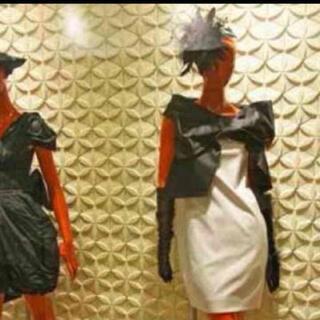 ダブルスタンダードクロージング(DOUBLE STANDARD CLOTHING)のダブルスタンダードSov.リボンワンピース(ひざ丈ワンピース)