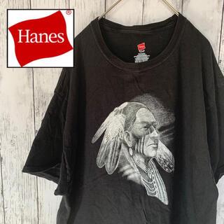 ヘインズ(Hanes)のUS ヴィンテージ 古着 Hanes ヘインズ おじさん Tシャツ 半袖(Tシャツ/カットソー(半袖/袖なし))