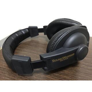 【高音質】SOUND WARRIOR SW-HP20 ヘッドホン 城下工業