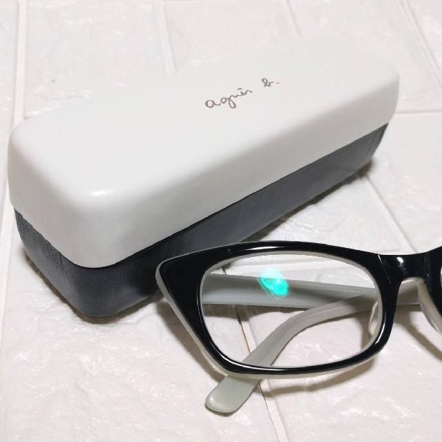 agnes b.(アニエスベー)の《新品・未使用》バイカラー●メガネケース●アニエスベー●《agnès b.》 レディースのファッション小物(サングラス/メガネ)の商品写真