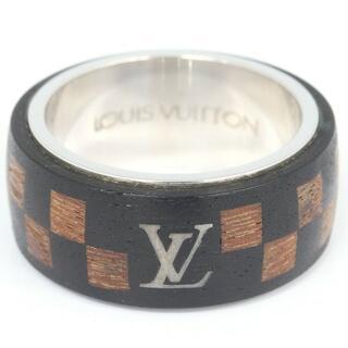 ルイヴィトン(LOUIS VUITTON)の ルイヴィトン リング ダミエ ウッドリング M99167(リング(指輪))