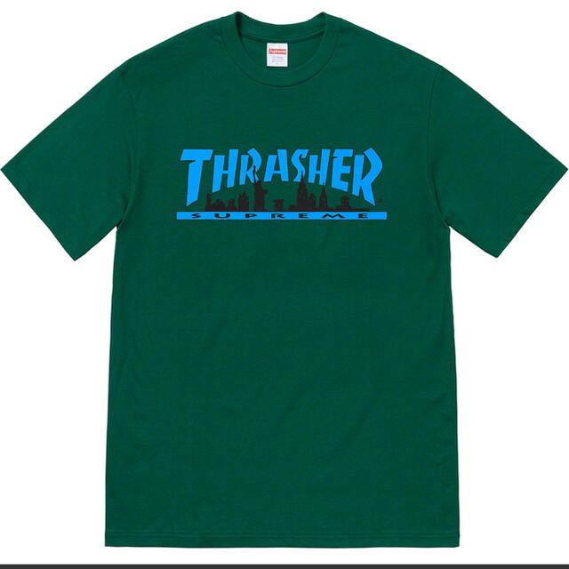 Supreme(シュプリーム)のSupreme/Thrasher Skyline Tee XL メンズのトップス(Tシャツ/カットソー(半袖/袖なし))の商品写真