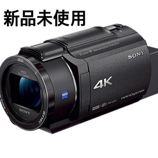SONY(ソニー)の【新品未使用】SONY FDR-AX45 B ブラック スマホ/家電/カメラのカメラ(ビデオカメラ)の商品写真