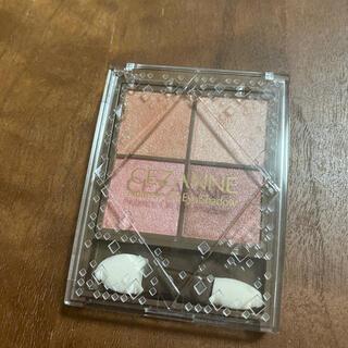 CEZANNE(セザンヌ化粧品) - セザンヌ ニュアンスオンアイシャドウ 01 ウォームコーラル