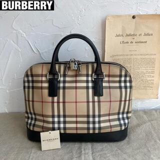 BURBERRY - BURBERRY ハンドバッグ ノバチェック