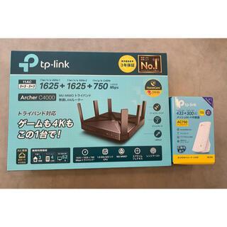 バッファロー(Buffalo)のTP-LINK Archer C4000+RE200(PC周辺機器)