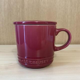 ルクルーゼ(LE CREUSET)のル・クルーゼ 蓋付き マグカップ(グラス/カップ)