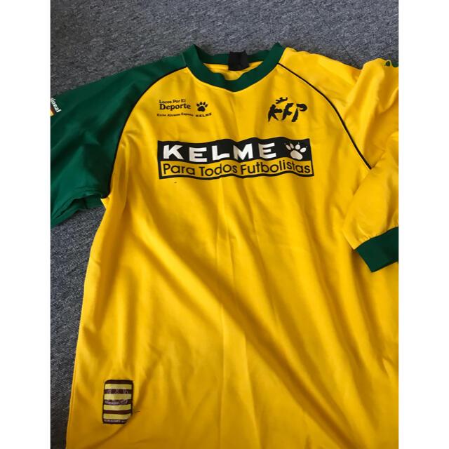 フットサル KELME プラシャツ、パンツ、ソックス3点 スポーツ/アウトドアのサッカー/フットサル(ウェア)の商品写真