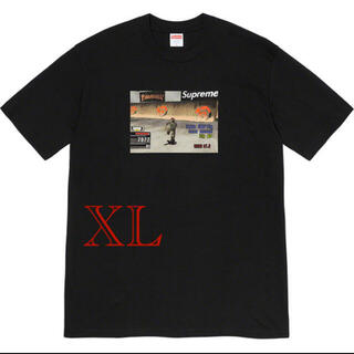 "Supreme - Supreme / Thrasher® Game Tee ""Black"" XL"