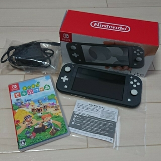 Nintendo Switch - 【美品】Nintendo Switch Lite スイッチライト 本体 グレー