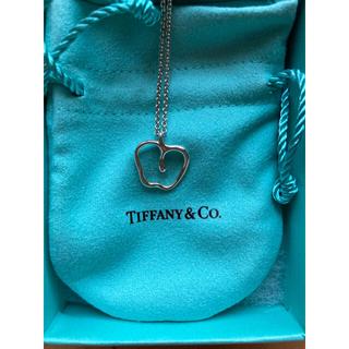 Tiffany & Co. - 【美品】ティファニー アップル ペンダント