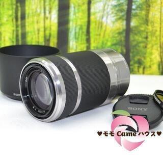 SONY - ソニー E 55-210mm☆手振れ補正付き望遠レンズ☆1690-1