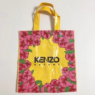 KENZO - KENZO ケンゾー ビニール トートバッグ ハンドバッグ 花柄 未使用