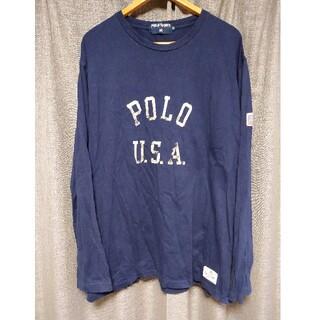 ラルフローレン(Ralph Lauren)のビンテージポロスポーツロンTカットソーラルフローレンジャケットキャップパーカー(Tシャツ/カットソー(七分/長袖))