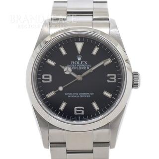 ロレックス(ROLEX)のロレックス エクスプローラー1 114270 SS ルーレット M番 メンズ(腕時計(アナログ))