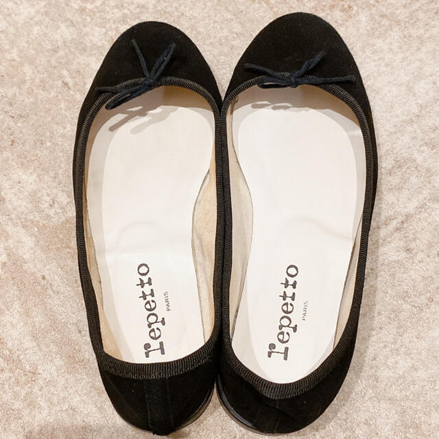 repetto(レペット)のレペット ブラック 37 レディースの靴/シューズ(バレエシューズ)の商品写真