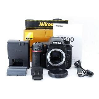 Nikon - 【ほぼ新品】ニコン Nikon D7500 ボディ《ショット数なんと35回!》