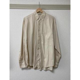 COMOLI - auralee Washed Finx TwilL Big Shirts