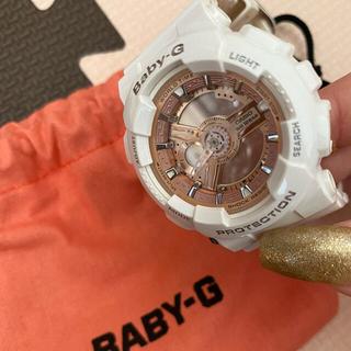 ベビージー(Baby-G)のBABY-G 時計 レディース(腕時計)