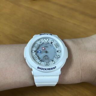 ベビージー(Baby-G)のBABY-G 腕時計 ホワイト(腕時計)
