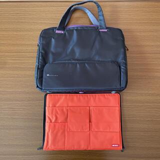 ELECOM - ノートパソコン バッグ Betsumo バッグインバッグ セット