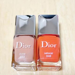 Dior - Dior ヴェルニ MIRAGE 648 DUNE 323