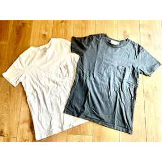 レミレリーフ(REMI RELIEF)の定価1.6万 ビームス購入 レミレリーフ TシャツXL 白黒2枚セット(Tシャツ/カットソー(半袖/袖なし))