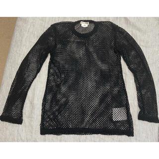 コムデギャルソン(COMME des GARCONS)のコムデギャルソン 網Tニット M(Tシャツ(長袖/七分))