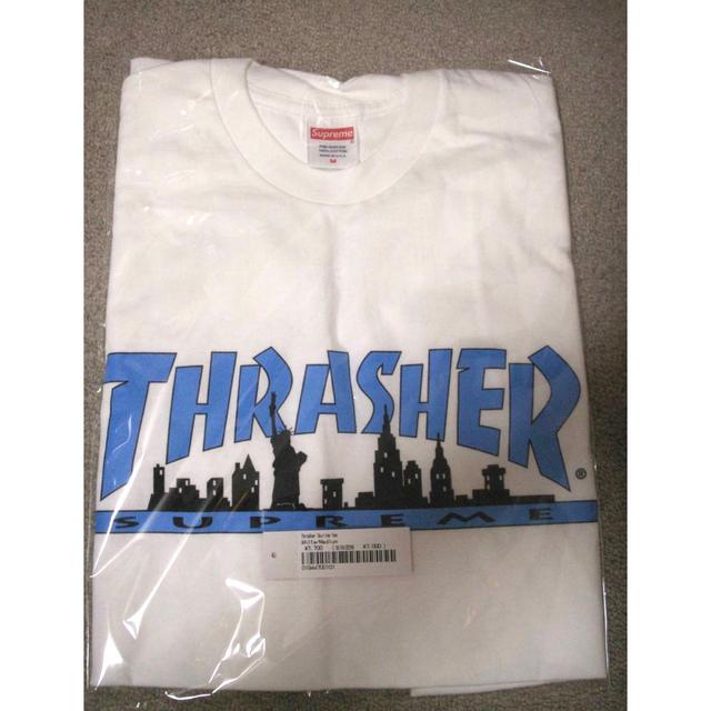 Supreme(シュプリーム)の【 White M 】 Supreme / Thrasher Skyline T メンズのトップス(Tシャツ/カットソー(半袖/袖なし))の商品写真