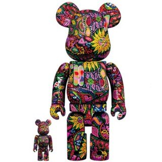 BE@RBRICK Psychedelic Paisley 100%&400(その他)