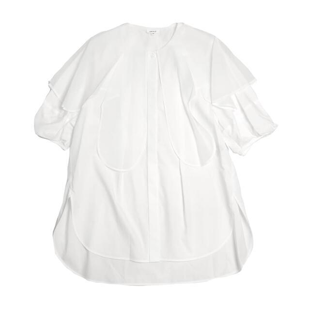 ENFOLD(エンフォルド)の2021年秋物 ENFOLDブラウス レディースのトップス(シャツ/ブラウス(半袖/袖なし))の商品写真