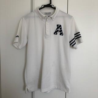 adidas - 【中古】adidas アディダス ポロシャツ  M ゴルフウェア
