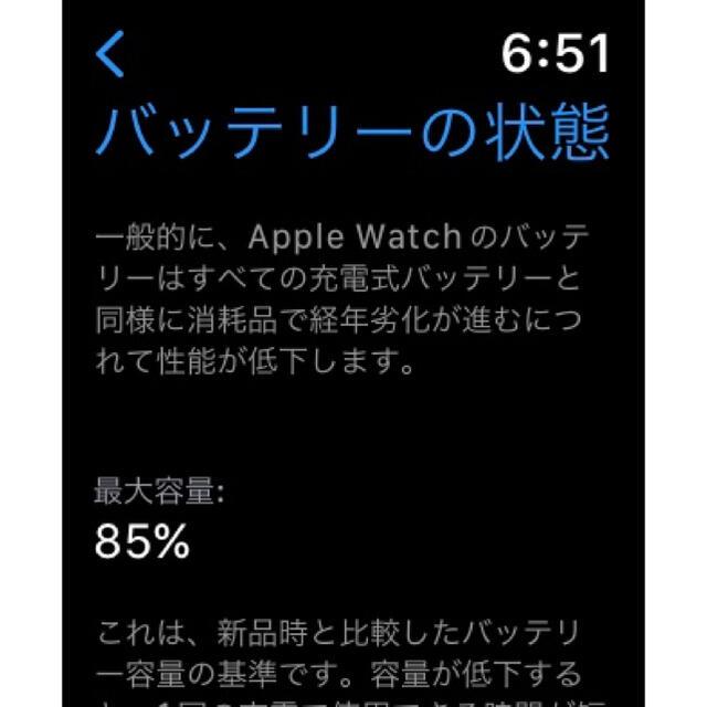 Apple Watch(アップルウォッチ)のApple Watch series4 40mmステンレススチール おまけ付き メンズの時計(腕時計(デジタル))の商品写真