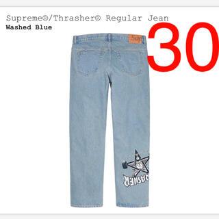 Supreme - Supreme × Thrasher Regular Jean ブルー Sサイズ