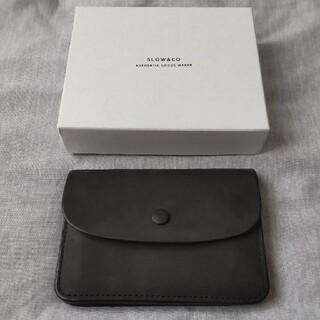 SLOW ingrasat -mini wallet- ブラック