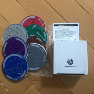 フォルクスワーゲン(Volkswagen)のフォルクスワーゲン★ラバーコースター7枚セット(ノベルティグッズ)