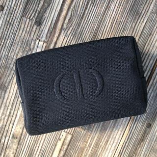 ディオール(Dior)の最新 ディオール   スクエア ポーチ ブラック 箱付き (ポーチ)