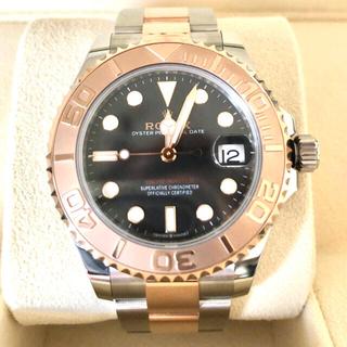 ロレックス(ROLEX)の【新品未使用】ヨットマスター37 エバーローズゴールド プロフェショナルモデル(腕時計(アナログ))
