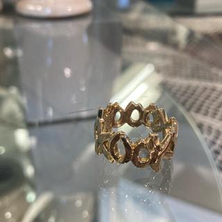 Tiffany & Co. - ティファニー ラブ&キス リング 14.5号 K18YG 美品 新品仕上げ済