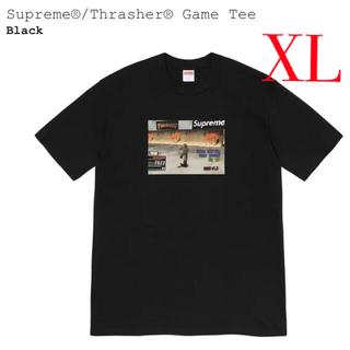 Supreme - Supreme®/Thrasher® Game Tee XL ブラック