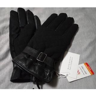 MACKINTOSH PHILOSOPHY - mackintosh philosophy 手袋 ブラック 25cm