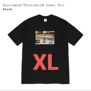 Supreme - XL supreme Thrasher game tee black