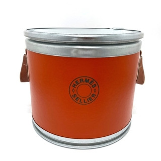 エルメス(Hermes)のエルメス セリエ 馬具入れ サドルボックス マルチケース ドラム缶(彫刻/オブジェ)