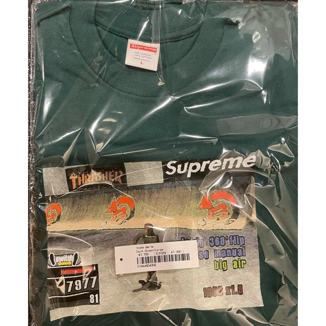 Supreme(シュプリーム)のsupreme × thrasher game tee DARK GREEN L メンズのトップス(Tシャツ/カットソー(半袖/袖なし))の商品写真