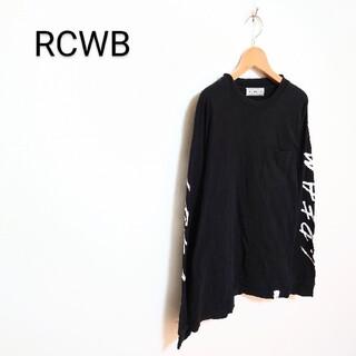ロデオクラウンズワイドボウル(RODEO CROWNS WIDE BOWL)のRCWB デザインカットソー(Tシャツ/カットソー(七分/長袖))