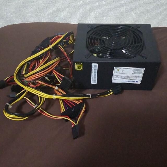 【ジャンク】PC電源ユニット FSP1200-50TGM スマホ/家電/カメラのPC/タブレット(PCパーツ)の商品写真