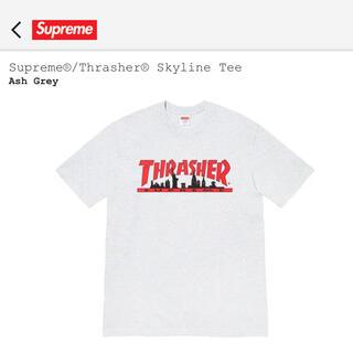 Supreme - supreme THRASHER skyline tee
