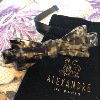 アレクサンドルドゥパリ(Alexandre de Paris)のアレクサンドルドゥパリ 素敵なおリボンバレッタ♡ ミスアレクサンドル (バレッタ/ヘアクリップ)