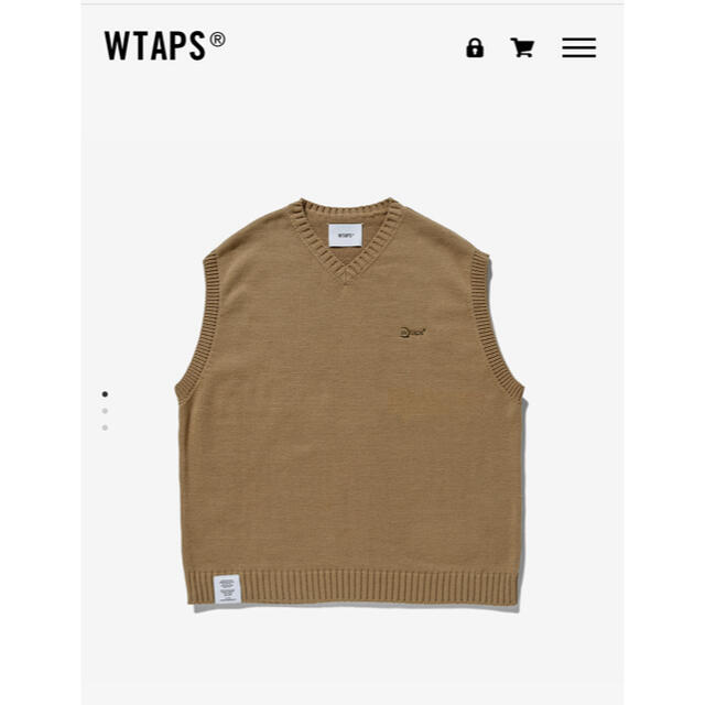 W)taps(ダブルタップス)のWTAPS DITCH VEST/POLY  L beige メンズのトップス(ベスト)の商品写真