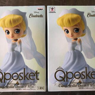 Disney - Qposket シンデレラ Aカラー 2個セット